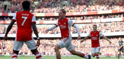 Premier League: FC Arsenal besiegt Tottenham Hotspur im Nordlondon-Derby