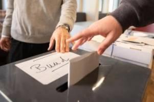 Wahlen: Bundestagswahl: SPD liegt in Mecklenburg-Vorpommern vorn