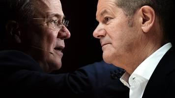 Bundestagswahl 2021   Prognose: Enges Rennen zwischen SPD und CDU
