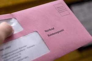 briefwahl zur bundestagswahl 2021: am wahltag beantragen oder abgeben
