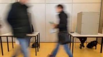 Bundestagswahl beginnt - Wahllokale haben geöffnet