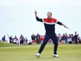 golf: usa holt sich den ryder cup zurück