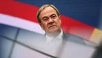 Union: Laschet sieht keinen klaren Regierungsauftrag für eine Partei