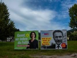 Grüne und FDP machen Hoffnung: Das Ergebnis ist gut für die Wirtschaft