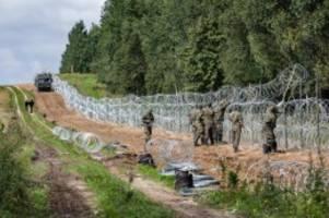 Migration: Grenze zu Belarus: Polen will Ausnahmezustand verlängern