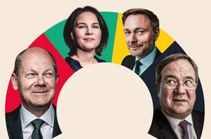 Bundestagswahl 2021: SPD, CDU/CSU, Grüne und FDP stehen vor komplizierter Regierungsbildung