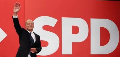 Bundestagswahl 2021: SPD liegt vor Union – Grüne mit Rekordergebnis auf Platz drei