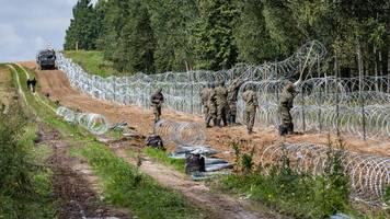 Migration - Grenze zu Belarus: Polen will Ausnahmezustand verlängern