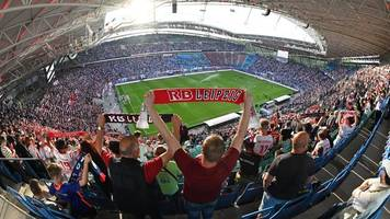 Geringe Inzidenz: RB Leipzig darf Stadion zu mehr als 50 Prozent füllen