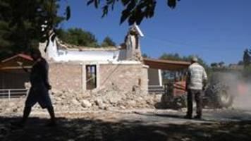griechenland: ein toter bei erdbeben auf kreta