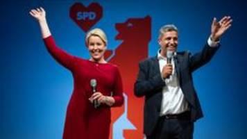 Vorläufiges Ergebnis Berlin-Wahl: SPD gewinnt Wahlkrimi