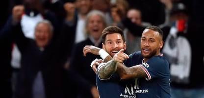 Champions League: PSG siegt dank Messi-Treffer gegen City, Sheriff gewinnt sensationell bei Real Madrid