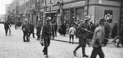 als berlin die radikalen in sachsen mit militärischen mitteln unterdrückte