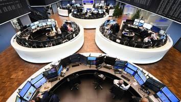 leitindex im minus - dax nach talfahrt zu wochenbeginn weiter im minus – anleger bleiben nervös