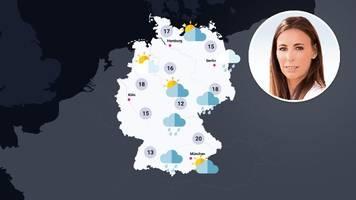 wetter in deutschland: wechselhafter wochenstart – hier wird es sonnig