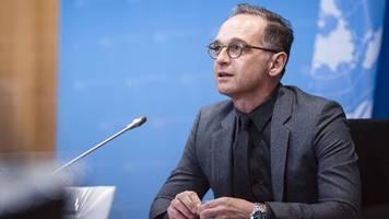 Heiko Maas sagt Teilnahme an Afghanistan-Konferenz ab