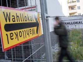 innensenator verspricht prüfung: 100 berliner wahllokale räumen pannen ein