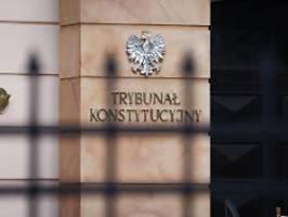 Außerhalb der Kompetenz: Gericht: EU-Recht bricht Polens Verfassung