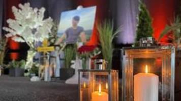 trauerfeier für erschossenen tankstellen-mitarbeiter