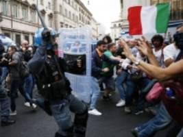 italien: sturm der neofaschisten