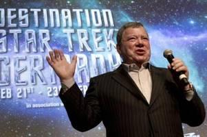 William Shatners Flug ins All um einen Tag verschoben