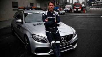 Alan van der Merwe - Weil er die Corona-Impfung verweigert, darf Formel-1-Rettungsfahrer nicht mehr ins Auto