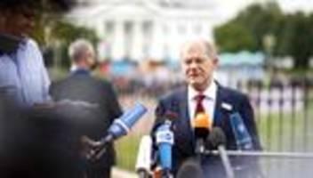 Olaf Scholz: Schon mal vor dem Weißen Haus posieren