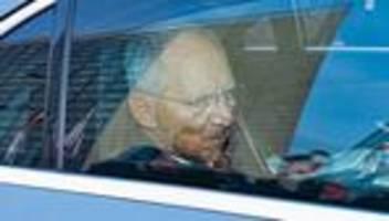 Union: Wolfgang Schäuble verzichtet auf führende Rolle in der CDU