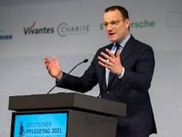 minister ist für höhere löhne: spahn ruft pflegekräfte auf, sich zu wehren