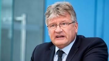Rückzug von der Parteispitze - Scheidender AfD-Chef Meuthen: Ich war nie ein Feigenblatt