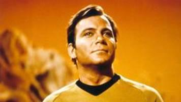 William Shatner alias Captain Kirk fliegt ins All