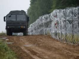 Grenzschutz: Polens Parlament billigt Bau von Befestigung an EU-Außengrenze