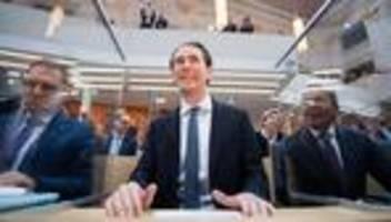 Österreich: Sebastian Kurz als Abgeordneter vereidigt