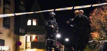 Kongsberg in Norwegen: Ermittler gehen nach Angriff von »Terrorakt« aus