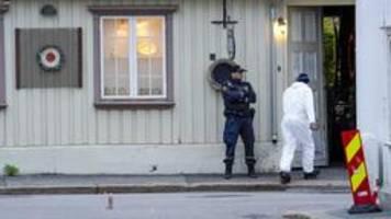 Angriff in Norwegen: Polizei geht von Terrorakt aus