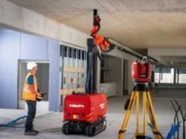 Roboter auf dem Bau: Schichtwechsel