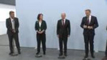 Ampel-Koalition: SPD, Grüne und FDP streben Koalitionsverhandlungen an