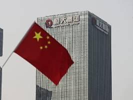 Immobilienfirma vor dem Kollaps: Zentralbank: Evergrande-Gefahr beherrschbar