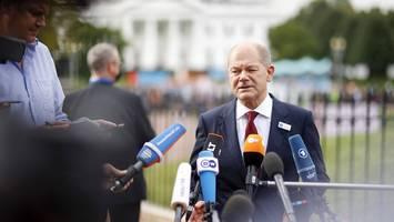 Besuch in Washington - Olaf Scholz, who? Für unseren Ampel-Mann interessiert sich in USA fast noch niemand