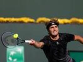 Alexander Zverev verpasst beim Masters in Indian Wells das Halbfinale