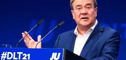 Armin Laschet stimmt Union bei JU-Treffen in Münster auf Opposition ein
