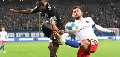 Fußball-Bundesliga: Hamburger SV verspielt Führung gegen Fortuna Düsseldorf