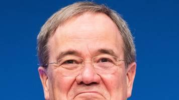 laschet weist rückzugsforderungen gegen schäuble zurück