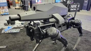 US-Hersteller baut schießenden Roboter-Hund