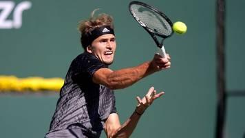 Tennis - Zwei Matchbälle vergeben: Zverev verliert Viertelfinale