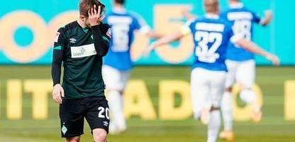 2. Bundesliga: SV Darmstadt 98 besiegt SV Werder Bremen