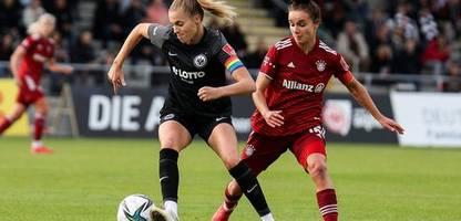 FC Bayern bei Eintracht Frankfurt mit erster Niederlage in der Frauen-Bundesliga
