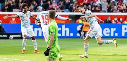 Fußball-Bundesliga: Der FC Bayern brilliert bei Bayer Leverkusen – und festigt die Tabellenführung