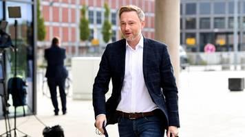 FDP-Chef Christian Lindner: Ampelparteien wollen Klimaministerium einrichten