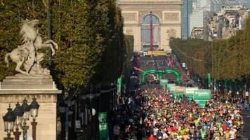 Leichtathletik: Rotich und Memuye gewinnen Marathon in Paris
